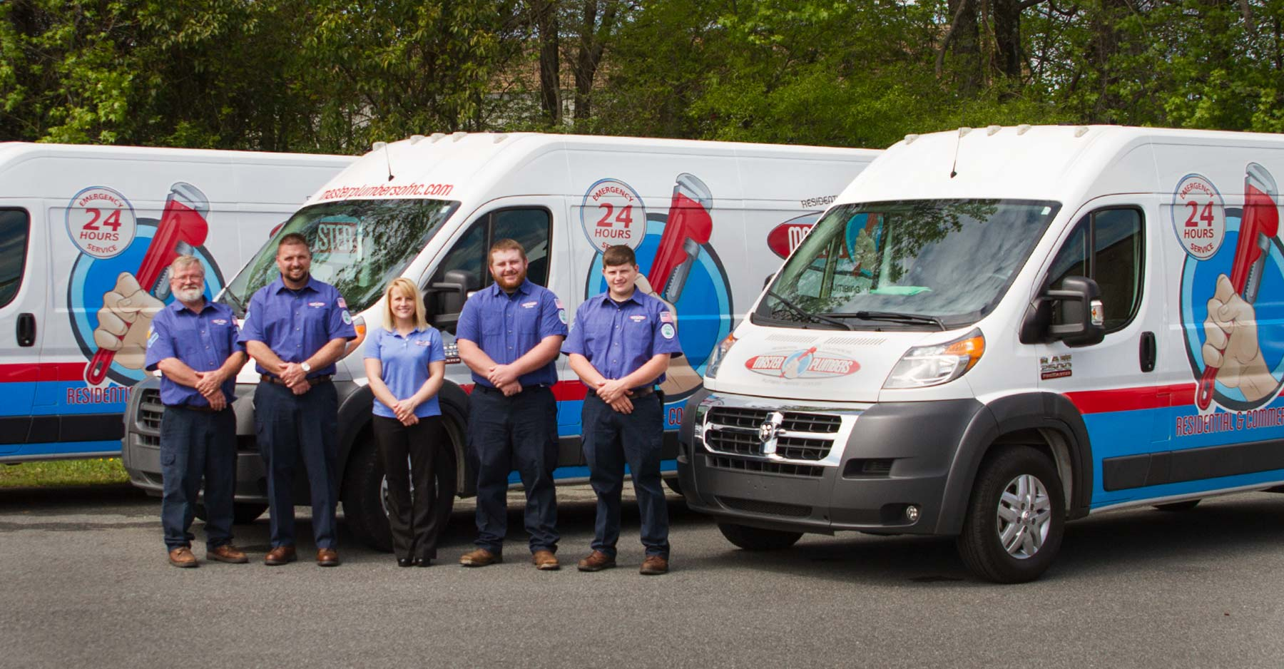 Plumbers in Greensboro, NC | Master Plumbers of North Carolina